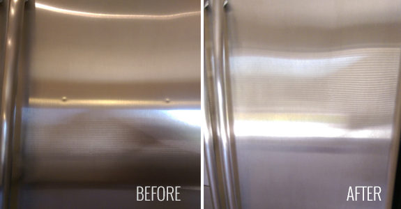 Repairing Amp Refinishing Stainless Steel Scratches In